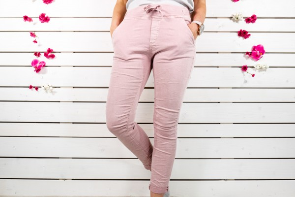 Melly & Co Stretch-Jeans in rosa