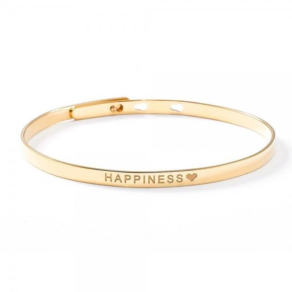 "Purelei ""Happiness""-Armreif in gold"