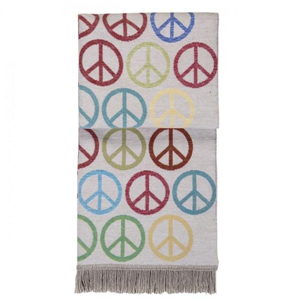 PAD Peace Kuscheldecke multicolor