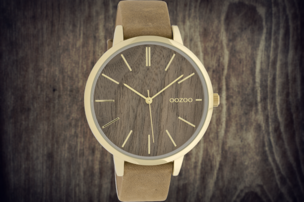 Oozoo Timepieces C9747 cognac/oak