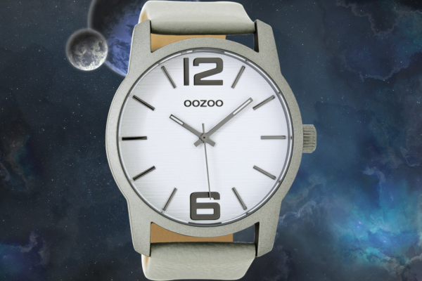 Oozoo Timepieces C9730 lightgrey/white