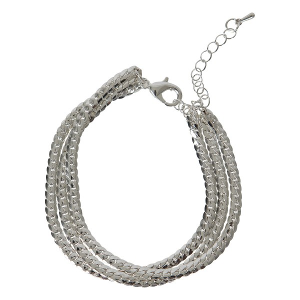 Armband Maja (Farbe: silber)