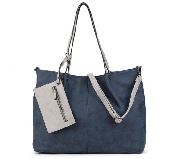 3-in-1 Shopper in blau
