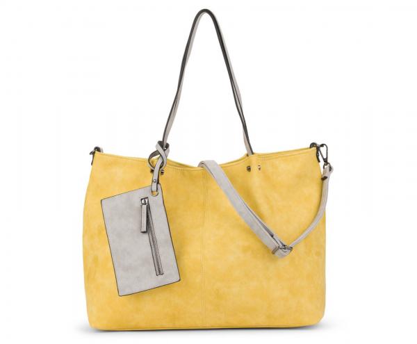 3-in-1 Shopper in gelb