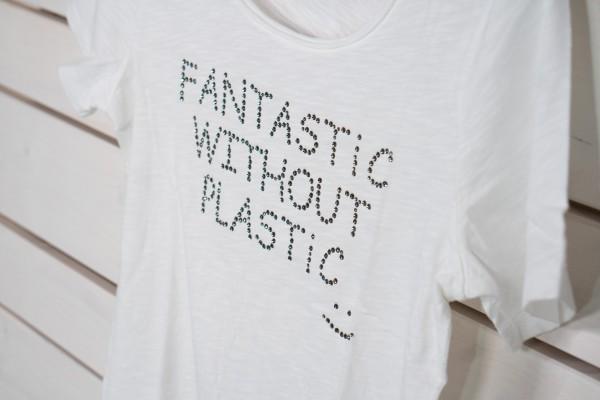 weißes T-Shirt FANTASTIC
