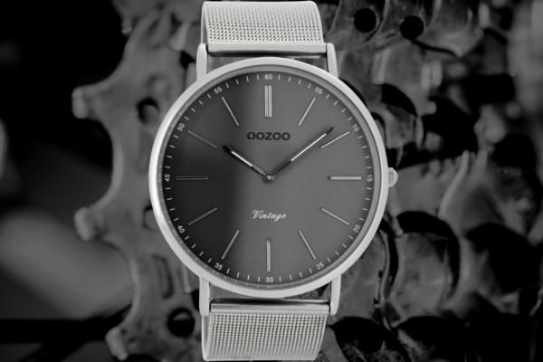 Oozoo Vintage C7382 titanium/dark grey
