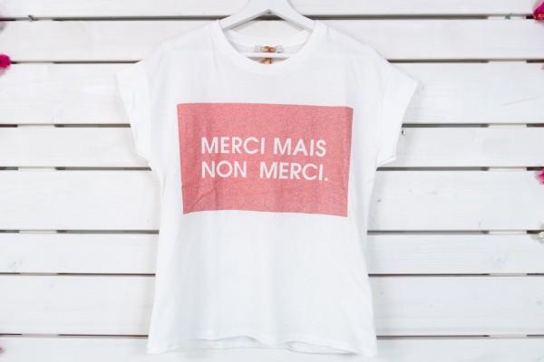 T-Shirt MERCI MAIS NON MERCI