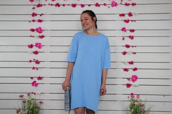 Cockaigne Sweatshirtkleid blau