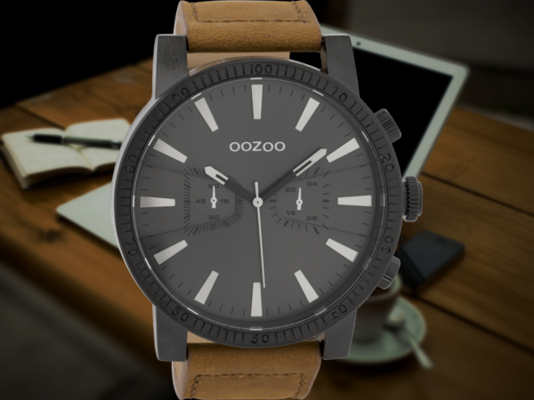Oozoo Timepieces C9647 brown/black