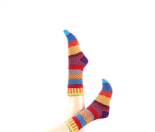 Crönert bunte Wollmix Socken
