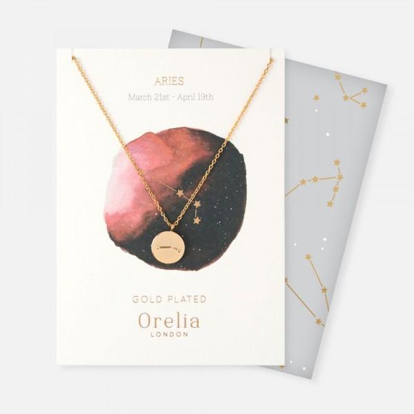 Sternzeichen Kette Widder in gold