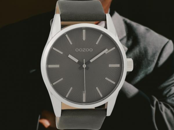 Oozoo Timepieces C9628 darkgrey