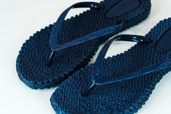 Ilse Jacobsen Flip Flops indigo blau