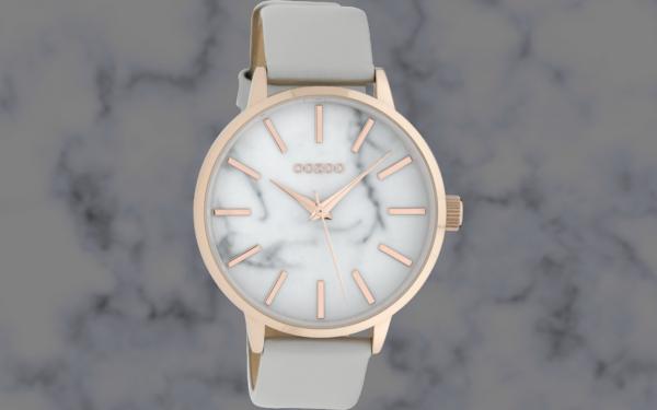 Oozoo Timepieces C9755 stonegrey/marble white
