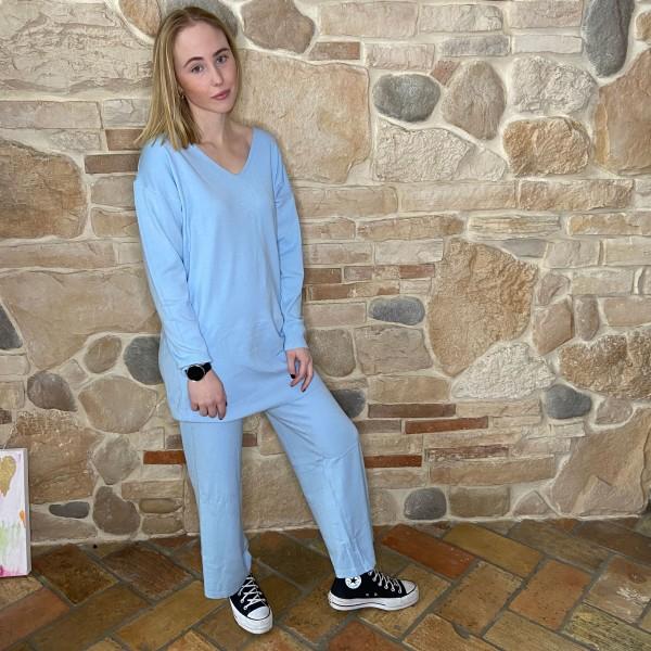 Home-Day Anzug, Zweiteilig, hellblau