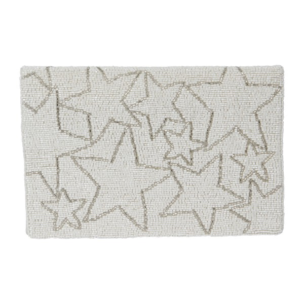 the Moshi Blaire Clutch ivory