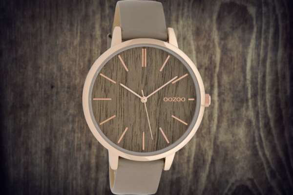 Oozoo Timepieces C9748 taupe/oak