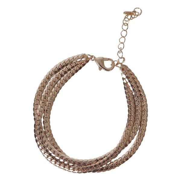 Armband Maja (Farbe: rose gold)