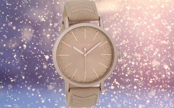 Oozoo Timepieces C9691 pinkgrey