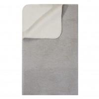 PAD Hobart Kuscheldecke grau-weiß